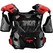 thor youth guardian chest protector black 270114xx