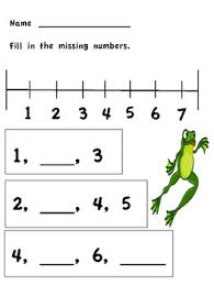 kindergarten number lines number line worksheets kindergarten mreichert worksheets