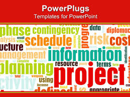 Project Cost Analysis Template by Powerpoint Template A Background Of Project Planning Schedule