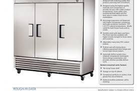 true refrigerator service manual on true freezer wiring diagram
