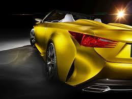 lexus yellow sports car 2014 lexus lfc2 concept 16