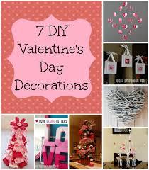 Easy Diy Valentine S Day Decor by 7 Valentine U0027s Day Decorations