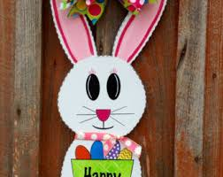 Easter Decorations Ireland by Easter Door Decor Etsy