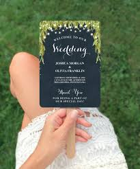 Diy Fan Programs Diy Printable Wedding Fan Programs Enchanted Wedding Program
