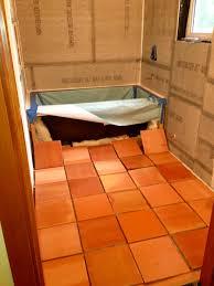 salltillo tile layout cement board before the kerdi waterproof