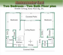 two bed two bath floor plans two bedroom two bath floor plans bedroom at real estate