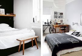 chambre bois blanc une chambre en noir et blanc joli place