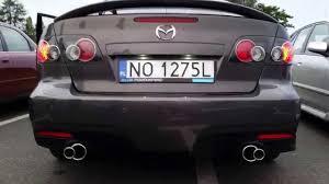 mazda m6 wydech na zamówienie mazda 6 custom exhaust m6 youtube