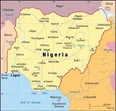 nigeria physical map welcome nigeria