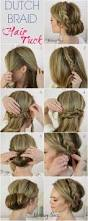 Easy Updo Hairstyles Step By Step by Best 20 Headband Hair Tuck Ideas On Pinterest Headband Updo