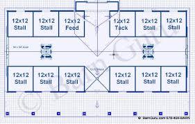 stable floor plans barn plans 10 stall horse barn design floor plan