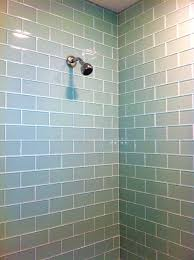 bathroom surprising white subway tile shower glass inserts after