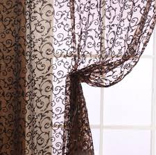 visit to buy modern style window curtains living room floral