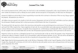 Bc Vehicle Bill Of Sale by Tax Sale