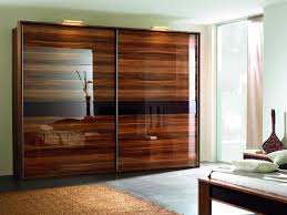Whole Wall Sliding Glass Doors Bedroom Furniture Black Mattress Wardrobe With Glass Door Tv