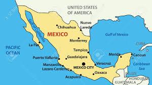 Map Cuba Map Of Us Mexico And Cuba Map Cuba Honduras Thempfa Org