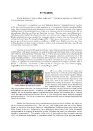 Species Diversity and Human Activity Essay Home   FC