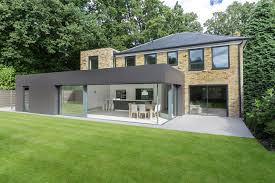 Modern Home Design Uk London House Extensions Reveal The Line Between Old And New
