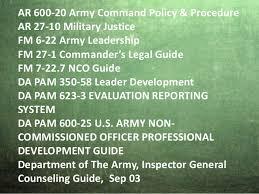 Army Counseling Magic Statement Counseling