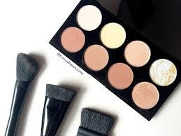 makeup revolution ultra contour palette review u0026 swatches