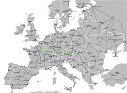 rail europe map line for europe