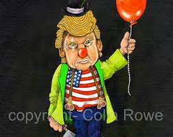 scary clown costume etsy