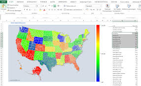 Maps Usa States by Population Map Usa States Powerpoint