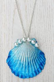 shell necklace with pearl images 235 best handmade j pearl images seashell art jpg