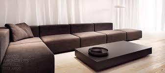 Graymodularsofa Interior Design Ideas - Modular sofa design