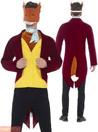 Fantastic Fox Halloween Costume Roald Dahls Fantastic Fox Licensed Fancy Dress Costume