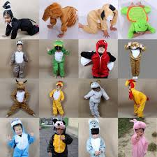 Childrens Animal Halloween Costumes by Wholesale Cartoon Children Kids Animals Costumes Cosplay Clothing