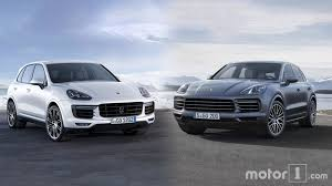 porsche cayenne 3 2 review 2019 porsche cayenne see the changes side by side