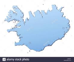 Map Of The World Outline by Outline Map Country Iceland Stock Photos U0026 Outline Map Country