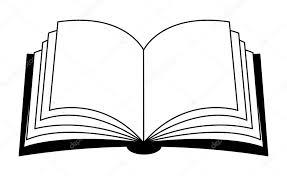 design clipart open book vector clipart silhouette symbol icon design