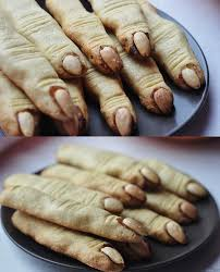 halloween party menu ideas witch u0027s finger cookies food pinterest halloween foods food