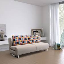 modern sleeper sofa living room contemporary with bonaldo cushion