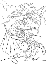 fighting men wolverine magneto coloring pages men
