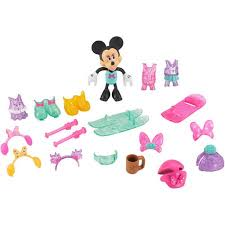 minnie s bowtique disney minnie mouse winter bow tique play set walmart