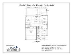 New Construction House Plans by House Plans For Brooks Village Pendergrass Ga