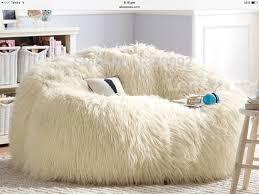 fur bean bag chairs adults home interior furniture