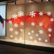 Christmas Window Glass Decorations by Best 25 Christmas Window Stickers Ideas On Pinterest Window