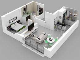 Best Apartment Design Images On Pinterest Architecture - One bedroom house designs