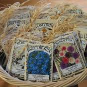 seed packet favors diy wedding favor ideas craftster