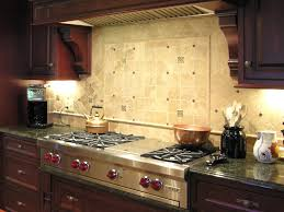 interior kitchen backsplash brown mosaic laminate tile ideas oak