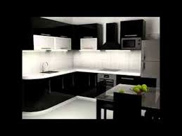 Kitchen Black Cabinets Black And White Kitchen Cabinets