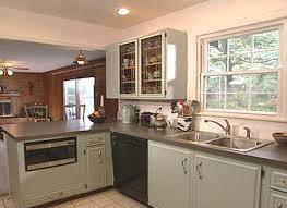 Updating Oak Kitchen Cabinets Diy Painting Kitchen Cabinets White Ellajanegoeppinger Com