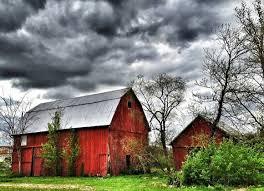Ohio landscapes images Erica peerenboom photography landscapes stormy barn ohio jpg