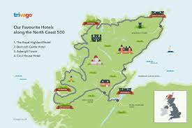 Map Your Road Trip The North Coast 500 Is Scotland U0027s Newest Driving Route To Help