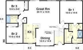 simple 3 bedroom house plans three bedroom cottage plans creative simple 3 bedroom house plans