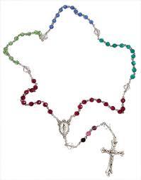 birthstone rosary birthstone rosary handmade birthstone rosary